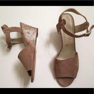 """Agl Shoes - AGL """"Alyssa"""" wedge size 38.5"""