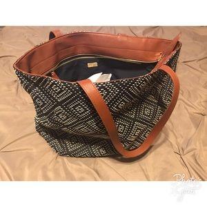 Deux Lux Handbags - NWOT Deux  Lux Woven Tote