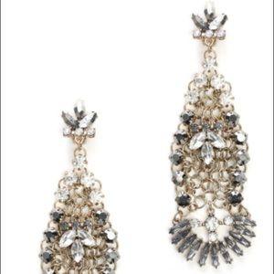 South Moon Under Jewelry - Adia kibur chandelier hem clip earrings