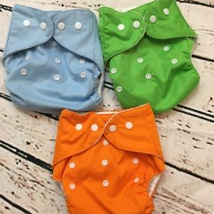 Other - 🌟 OS Pocket Cloth Diaper Bundle 🌟 NWOT