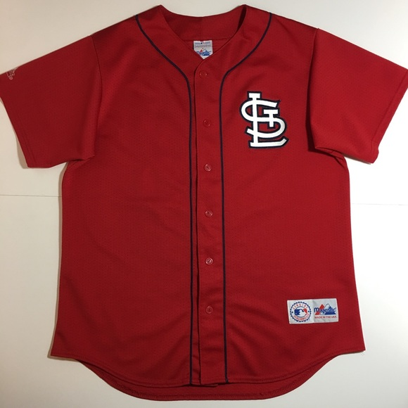 more photos aedfd 2f7ae Majestic St. Louis Cardinals Mark McGwire Jersey