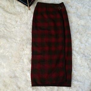 Banana Republic Dresses & Skirts - NWT Banana republic vintage wrap wool skirt