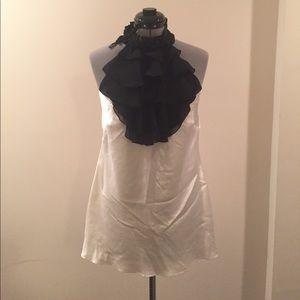 Bisou Bisou Tops - NWT Bisou Bisou halter blouse - L/G