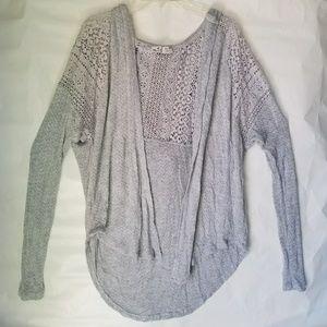 Hollister Sweaters - Hollister grey cardigan
