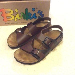 Birkenstock Shoes - 🌺 Birki's Leather Birko-Flor Sandals 🌺