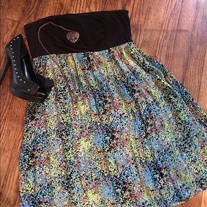 Fox Dresses & Skirts - Fox mini dress/strapless top