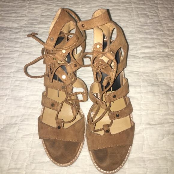 57 Off Dolce Vita Shoes Dolce Vita Lyndon Lace Up Heels