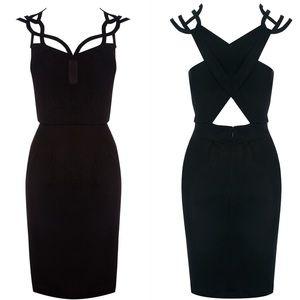 Karen Millen Dresses & Skirts - Karen Millen Graphic Cutwork Dress in Black