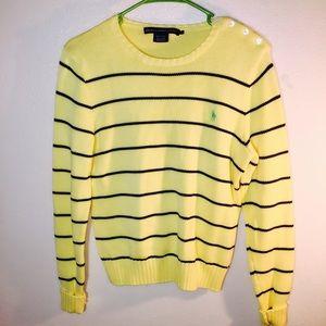 Ralph Lauren Sweaters - ✨🌟Ralph Lauren Sport Yellow & Navy Sweater