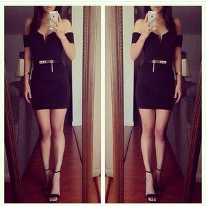 Dresses & Skirts - I heart black dress (belt not included)
