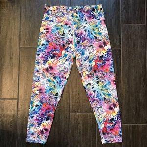 90 Degree By Reflex Pants - 90 Degree by Reflex Yoga Pants - Sz Med