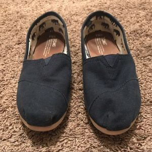 Toms Shoes - Navy Blue Toms