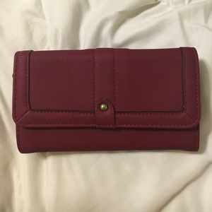 Mulberry for Target Handbags - Adorable Maroon Wallet!