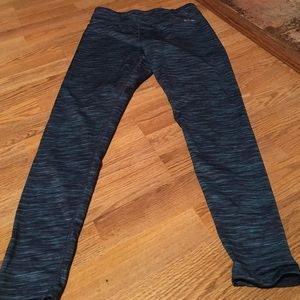 spalding Pants - Spaulding medium blue patterned athletic pants