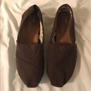 Toms Shoes - Brown Toms