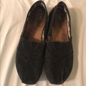 Toms Shoes - Black Toms