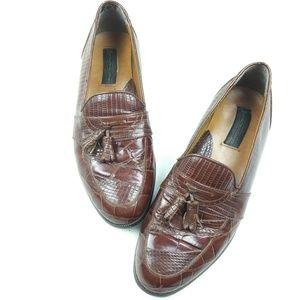 Stacy Adams Other - Stacy Adams men's Santana snakeskin shoes sz 10M