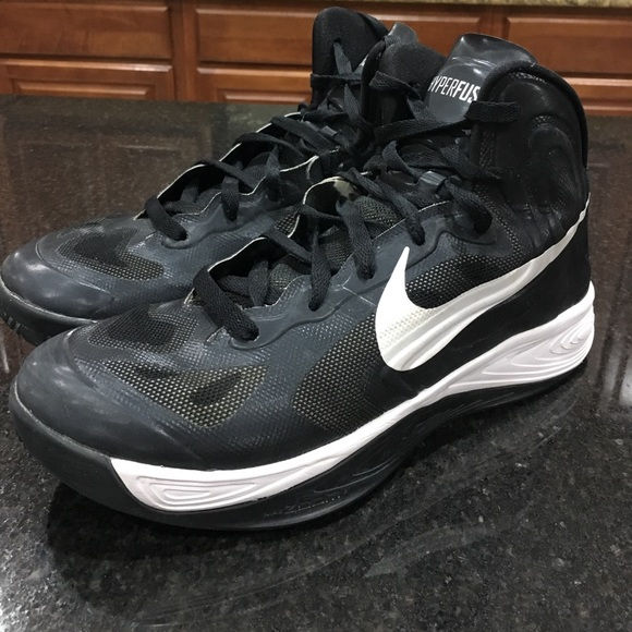 51% off Nike Other - Nike basketball Hyperfuse size 8.5 ...