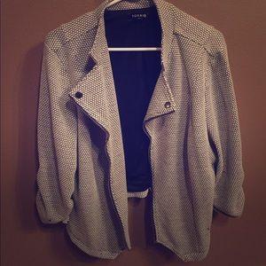 torrid Jackets & Blazers - Torrid Knit Moto Jacket