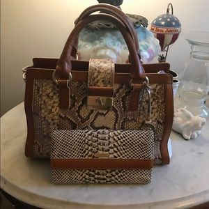 Brahmin Handbags - Bundled Brahmin handbag and wallet.