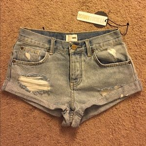Amuse Society Pants - Amuse Society denim shorts size 24