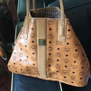MCM Handbags - Large Brown MCM Tote