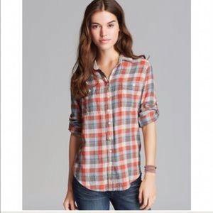 Jachs Tops - ❤️BOGO❤️Jachs Girlfriend Plaid Flannel shirt M