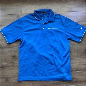 Nike Other - Nike golf Dri fit short sleeve polo shirt medium