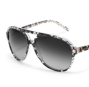 Dolce & Gabbana Accessories - Dolce &gabbona acetate lack lace crystal sunglasse
