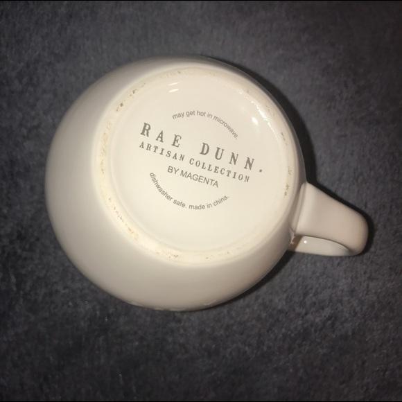 rae dunn rae dunn purr cat mug with gray inside from courtney