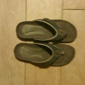 Propet Shoes - Propet Rejuve Denim Sandals size 7 Wide