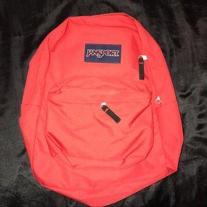 Jansport Handbags - RED JAN-SPORT BACKPACK
