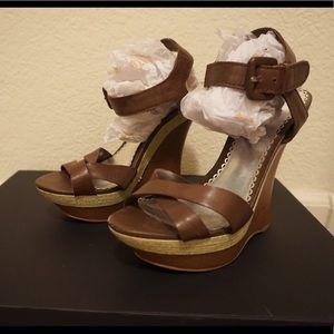 Bebe Wedge heels