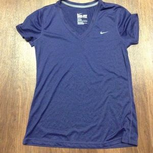 Nike purple Dri-Fit Short Sleeve M