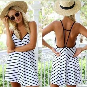 Dresses & Skirts - NWT Striped Summer Days Mini
