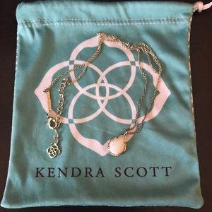 Kendra Scott Jewelry - Kendra Scott Silver Kiri in White
