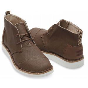 Toms Other - Toms Dark Brown Mateo Chukka Boot Sz 11