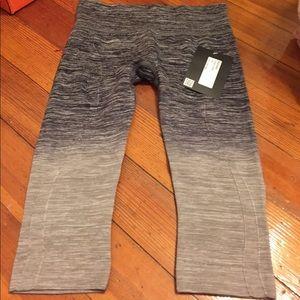 lululemon athletica Pants - Bran new electric yoga crops