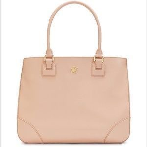 Tory Burch Handbags - Royal Tan Robinson East/West Leather Tote