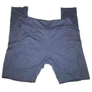 Heathered blue LLR leggings