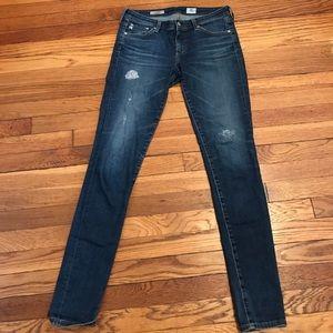 """AG """"the legging"""" Super skinny jean"""