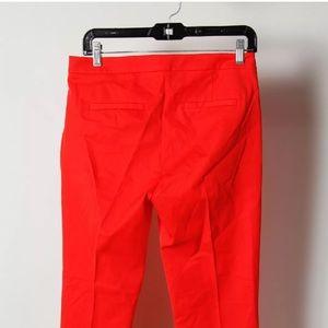J. Crew Pants - Size 4 NWT j crew 89 uss pants red/orange.