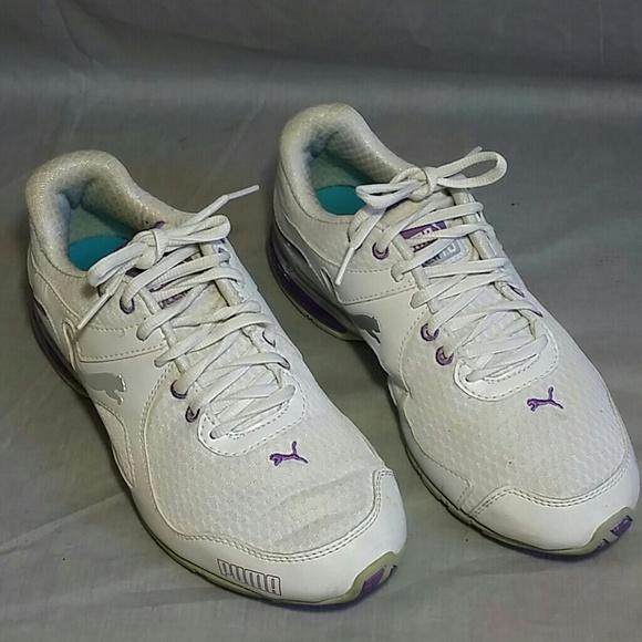 Shoes   Puma 10cell 10 Whitepurple 75 M