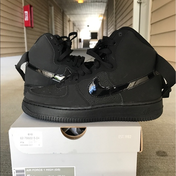 air force 1 noir mate
