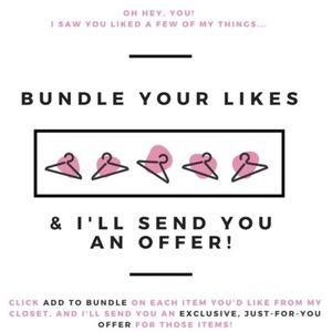 Accessories - Bundle your likes & I'll make you a private offer
