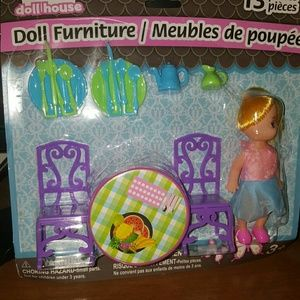 Other - 3 sets of dollhouse furniture really cute look!