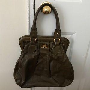 Jack Rabbit Leather Green Bag