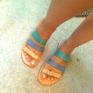 NEW Born in California sandals