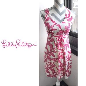 "{XS} Lilly Pulitzer ""Falling in Love"" Silk Dress"