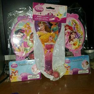Other - 3 princess paddle Ball sets